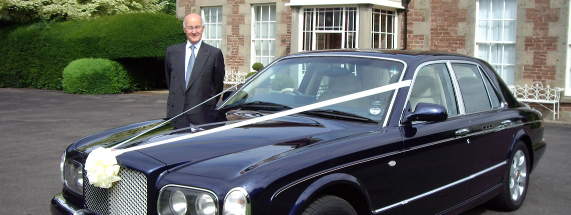 Wedding Cars Herefordshire Wedding Bentley Wedding Car Hire Ross